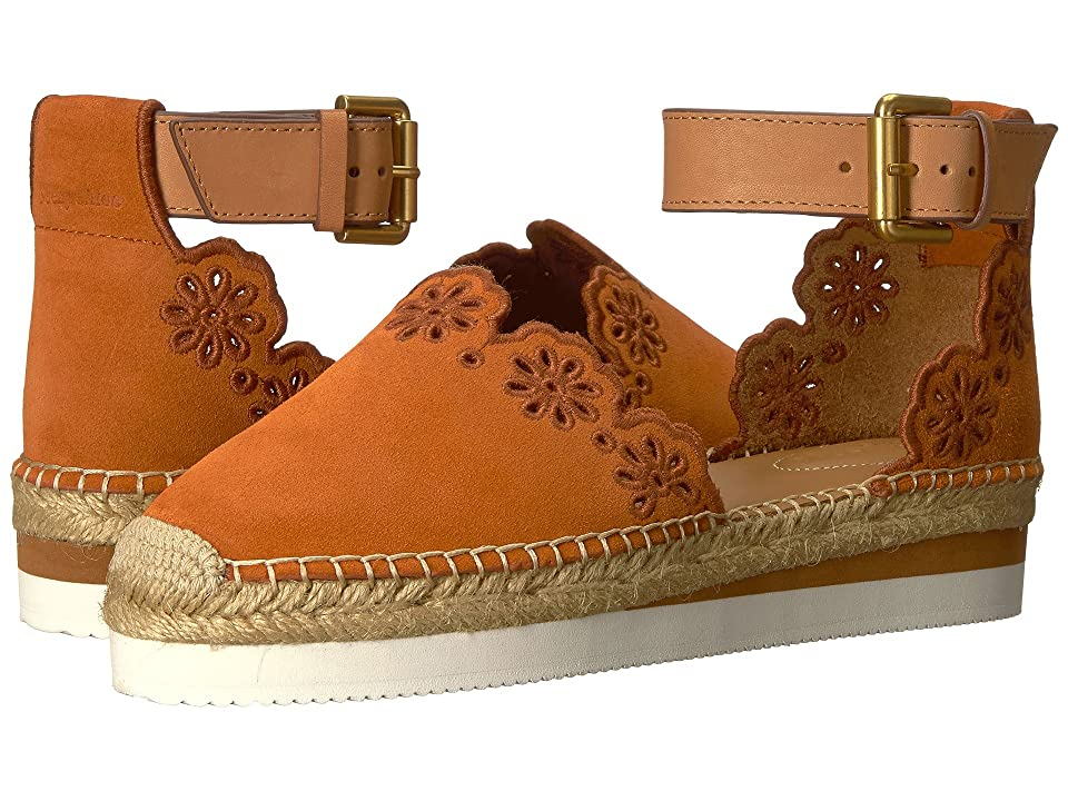 See by Chloe SB30201 (Crosta/Orange/Natural Calf/Cuoio) Women
