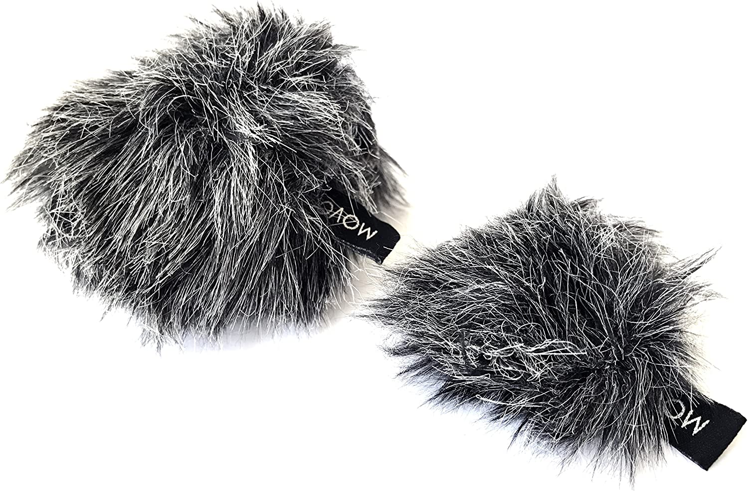 All stores are sold Movo WS-G10 Furry Outdoor Microphone - Fit 2021 spring and summer new fo Custom Windscreens