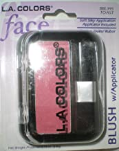 L.A Colors Professional Series BLUSH with Applicator Toast BBL395