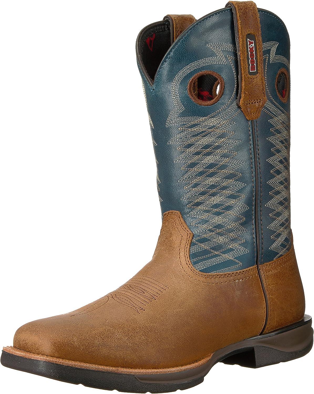 新品 Rocky 豊富な品 Men's Rkw0189 Boot Western