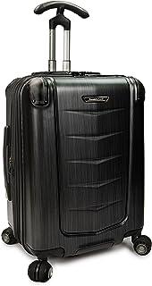 Traveler's Choice Silverwood Polycarbonate Hardside Expandable Spinner Luggage Case