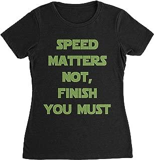Yoda Shirt - Speed Matters Not