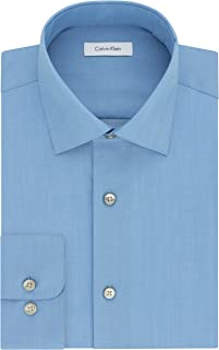 Calvin Klein Men's Dress Shirt Regular Fit Non Iron...