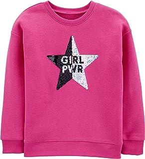 OshKosh B'Gosh Girls Flip Sequin Pullover Pullover Sweater