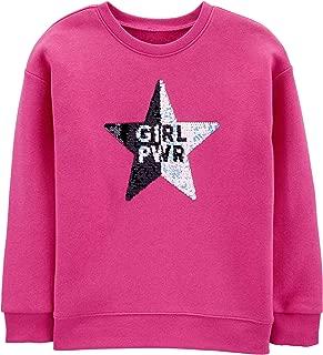 Girls' Little Flip Sequin Pullover