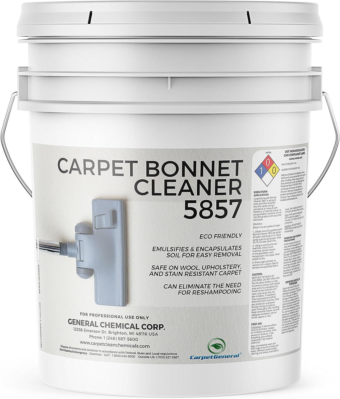 CarpetGeneral - Carpet Bonnet Carpe Safety and trust outlet Cleaner 5857 Encapsulating