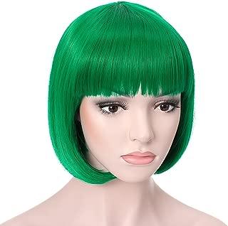 Best neon green bob wig Reviews