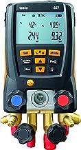 Testo 0563 1557 557 4 Way Valve Digital Manifold Meter Kit with Built in Bluetooth, 3