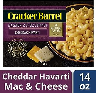 Cracker Barrel Cheddar Harvarti Macaroni and Cheese Dinner, 14 oz Box