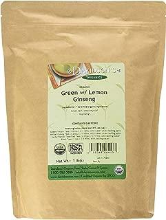 Davidson's Tea Bulk, Green with Lemon Ginseng, 16 Ounce