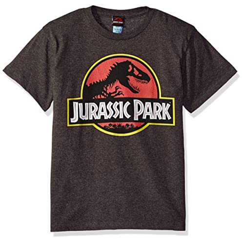 3ba362e5a Jurassic Park Boys' Park Logo Graphic T-Shirt
