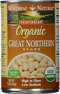 Westbrae Natural, Vegetarian Organic, Great Northern Beans, 15 oz
