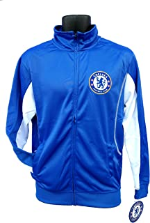 FC Chelsea Official License Soccer Track Jacket Football Merchandise Adult Size 001