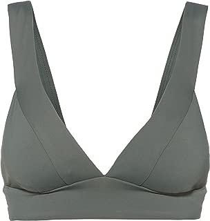 Seafolly Women's Banded Longline Triangle Bikini Top Swimsuit