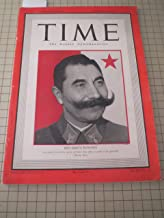 Time Magazine (1941) World War II - Battle of Russia (Road to Moscow) - Battle of Britain - Battle of China - Battle of the Atlantic - The Japanese Cabinet - Red Army's Budenny - Life Among the Leathernecks (Marines) - WWII