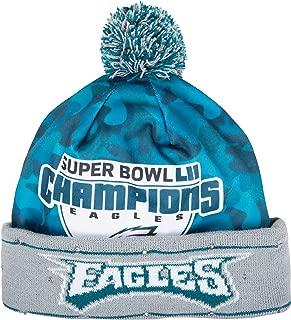 Philadelphia Eagles Super Bowl LII Champions Light Up Beanie