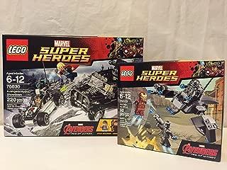 Lego Super Heroes Avengers Hydra Showdown & Lego Super Heroes Iron Man Vs. Ultron