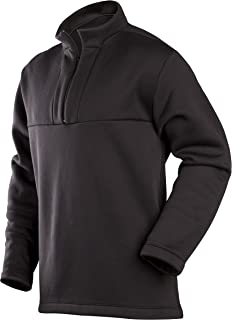ColdPruf Men's Expedition Base Layer 1/4 Zip Mock Neck Top