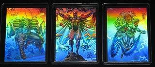 1993 X-Men Series II HOLOGRAM Insert Set of 3 Cards NM/M Marvel