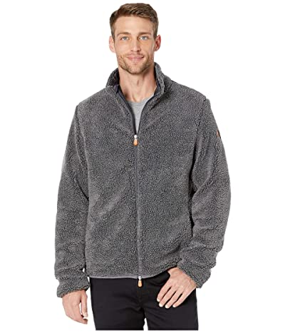 Save the Duck Bear 9 Faux Sherpa Jacket (Charcoal Grey) Men