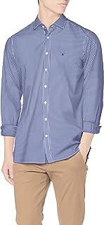 Hackett London Bengal Str KS Camisa para Hombre