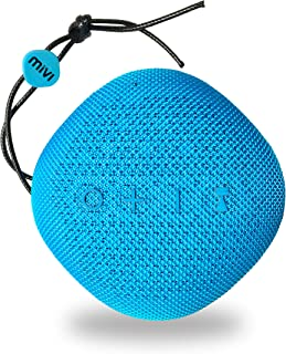 Mivi Moonstone Portable Wireless Speaker with HD Sound, Punchy Bass, Clear Highs and 10Watts Peak Output-Blue