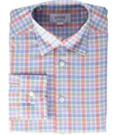 Eton - Contemporary Fit Plaid Shirt