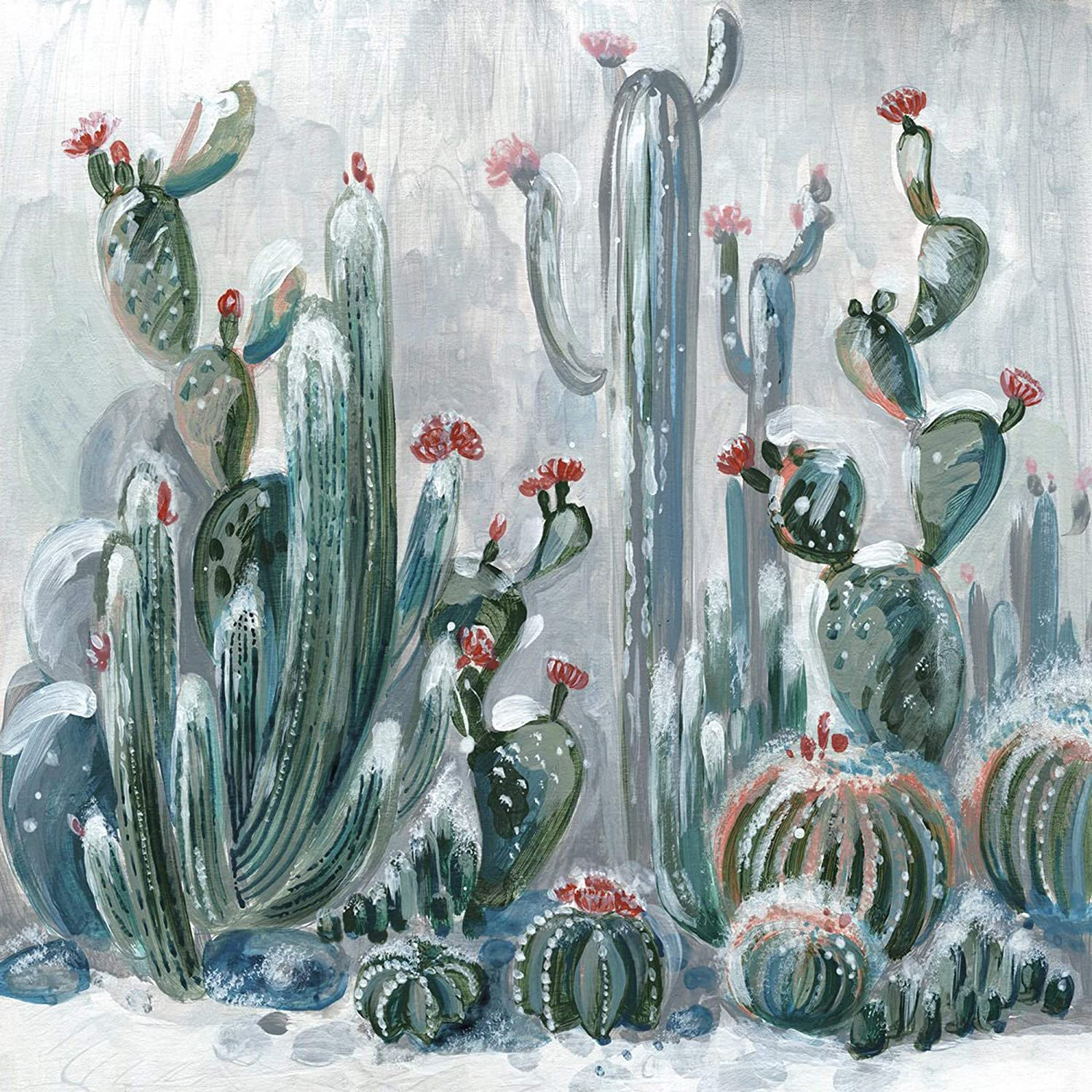 Marmont Hill Cactus Garden II on Finally popular brand Canvas Wrapped Print Painting Popular brand in the world