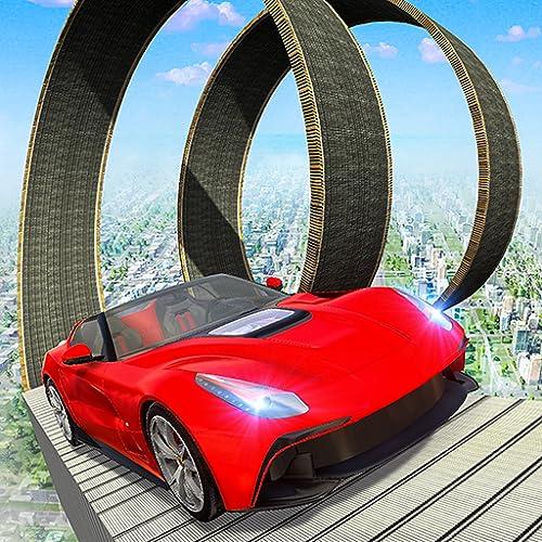 GT Stunts Riptide : Mega Grand Tourer Fun Car Race 3D : Best City Stunts : GT Racers In Modern City : Mega Ramp Sports Car Racing Simulator