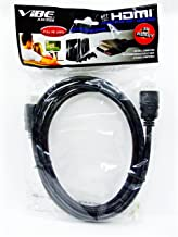 VibeAxcess VAHD406BK 6-Feet HDMI Cable