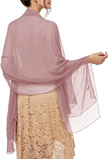 Damen Strand Scarves Sonnenschutz Schal Sommer Tuch Stola für Kleider in 29 Farben