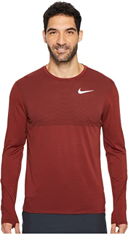 Nike - Zonal Cooling Relay Long Sleeve Running Top