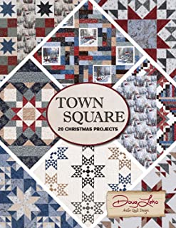 Town Square 20 Christmas Projects Quilt Patterns by Town Square, by Doug Leko of Antler Quilt Design. [Unknown Binding]