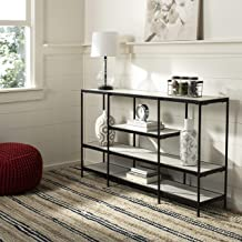 Safavieh Home Collection Petra Beige and Black 3 Tier Console Table,