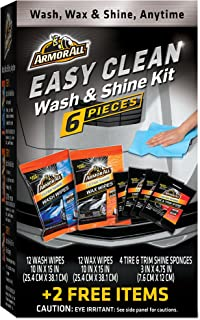 ArmorAll Gift Pack Easy Clean Wash & Shine kit 6 Pcs + 2 Free Items