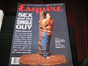 Esquire Magazine (MARKY MARK , Death of the Mafia , Sex & The Singlr Guy, June 1993)