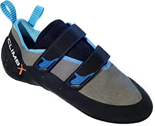 Climb X Rave Strap Climbing Shoe 2018 (11, Gray)