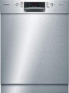 Bosch SMU46NS03E Serie 4 - Lavavajillas (A++, 60 cm, 266 kWh/año, 14 MGD, acero inoxidable, muy silencioso, pantalla de 7 segmentos, secado extra-seco)