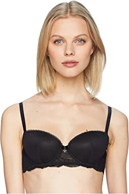 Emporio Armani - Virtual Lace Padded Balconette Bra