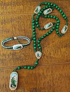Rosario y Pulcera de San Judas Tadeo Rosary Saint Judas