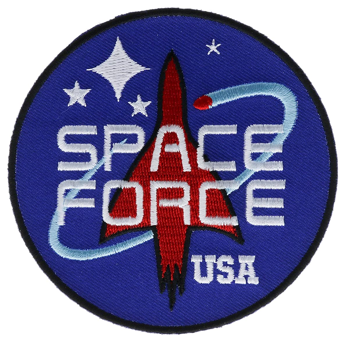 Space Force USA Embroidered 3.5