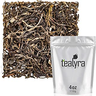 Tealyra - Bai Mao Hou - White Monkey Green Tea - Best Chinese Green Loose Leaf Tea - Caffeine Medium - 110g (4-ounce)