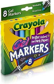 Crayola 8 Gel Markers