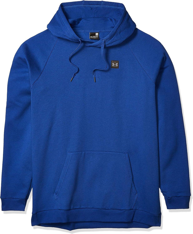 Under 5% OFF Armour Men's Rival Regular dealer Fleece Blue American Pullover Hoodie