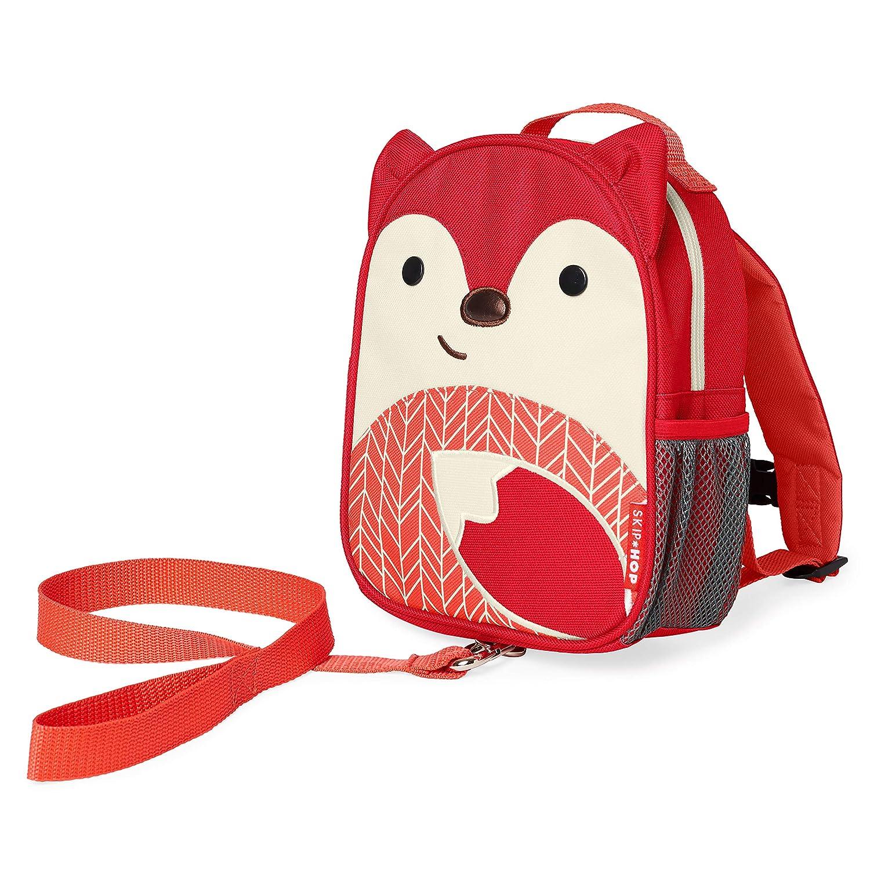 Skip Hop Toddler Backpack Leash, Zoo, Fox