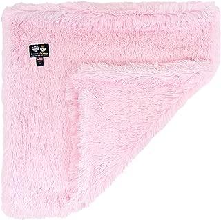 Bessie and Barnie Bubble Gum Luxury Shag Ultra Plush Faux Fur Pet, Dog, Cat, Puppy Super Soft Reversible Blanket (Multiple Sizes), MD - 36