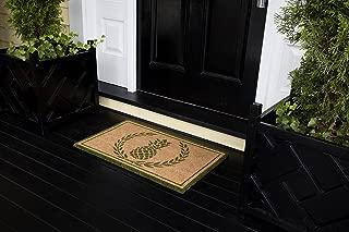 Erin Gates by Momeni Park Pineapple Green Hand Woven Natural Coir Doormat 1'6