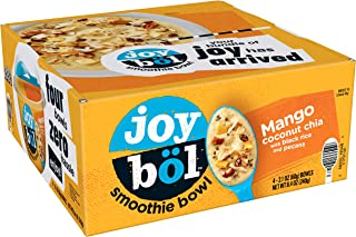 joyböl Smoothie Bowls, Mango Coconut Chia, Easy Breakfast, Non-GMO, 4 Count