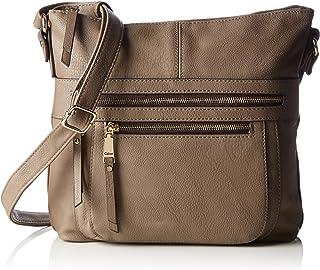 Gabor Umhängetasche Damen Tina, 3.5x19x24 cm, Handtasche Damen
