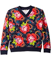 Kenzo Kids - All Over Paris Sweatshirt (Big Kids)